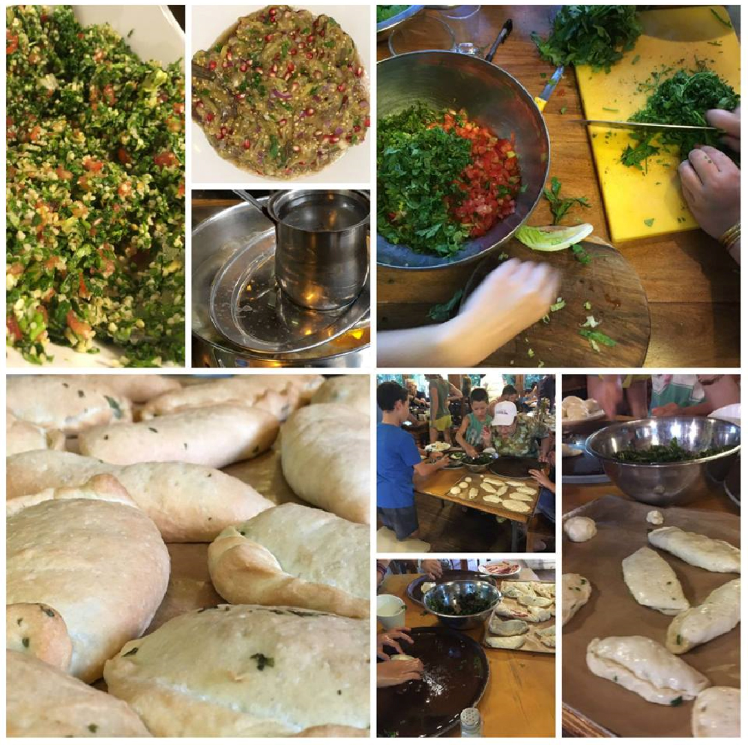 Syrian food workshop